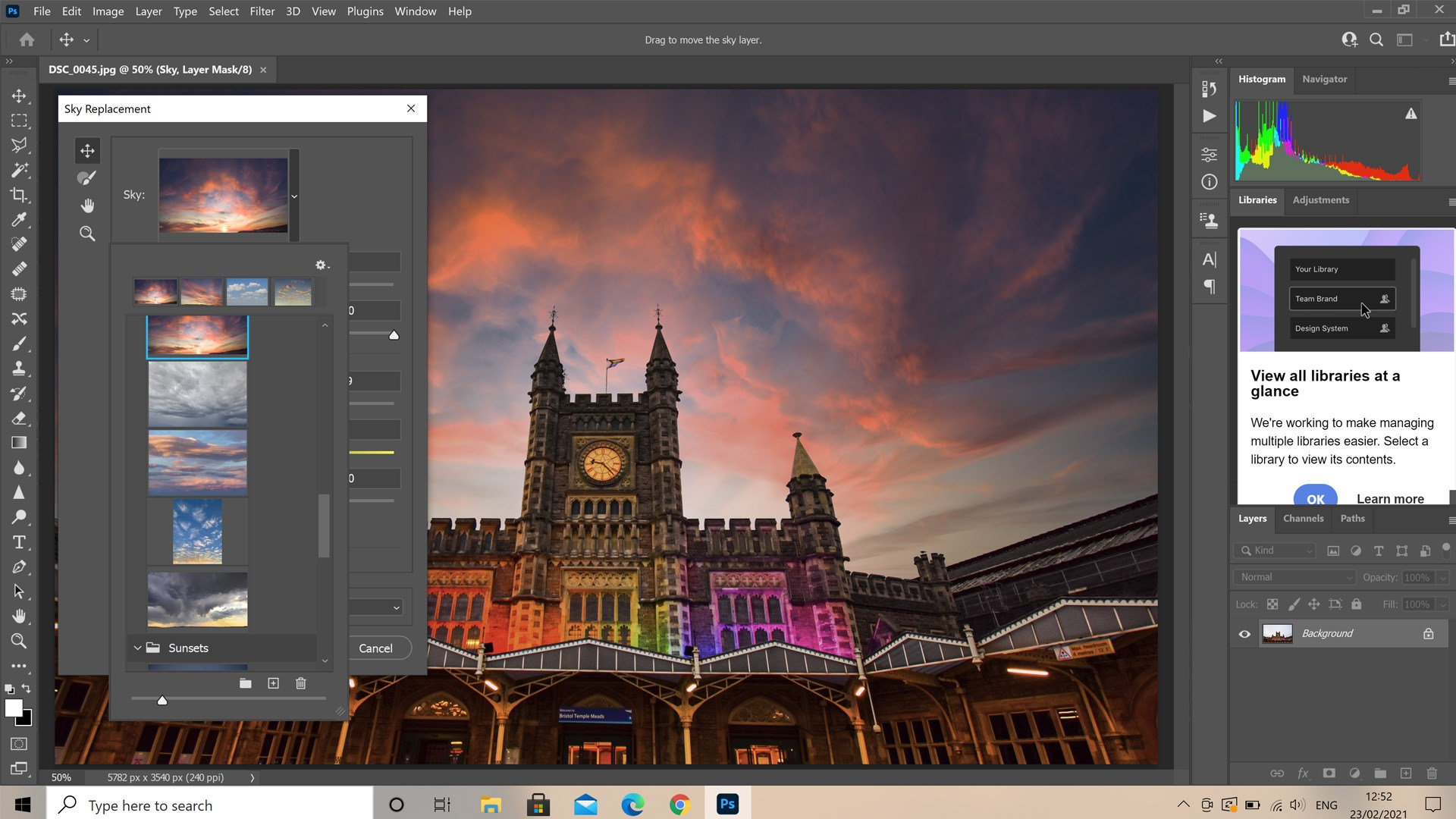 Adobe Photoshop software
