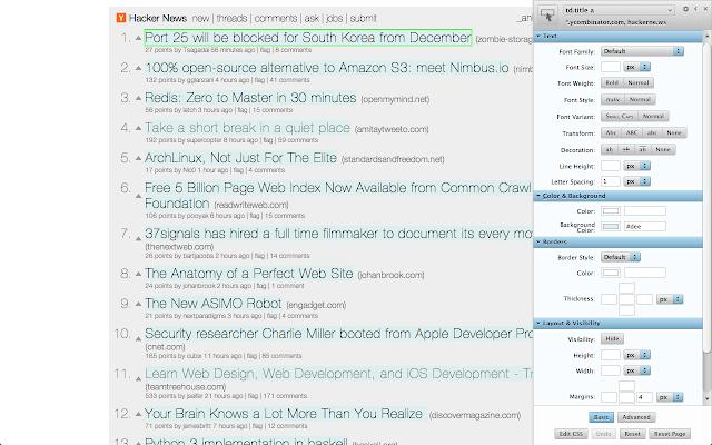 ePlusGo - ekstensiStylebot untuk mengubah tampilan web