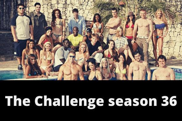 The Challenge season 36 poster