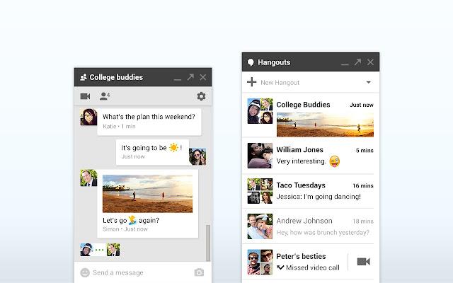 Hướng dẫn nhắn tin và gọi điện miễn phí trên Google Hangouts