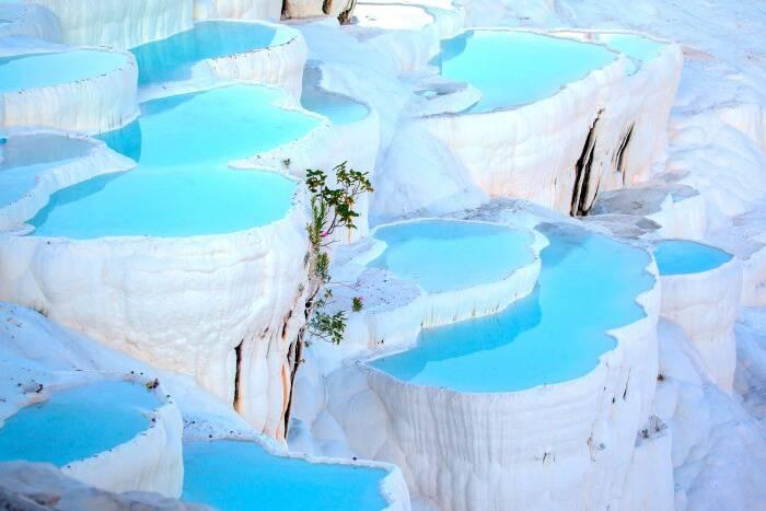 Image result for beautiful pamukkale images