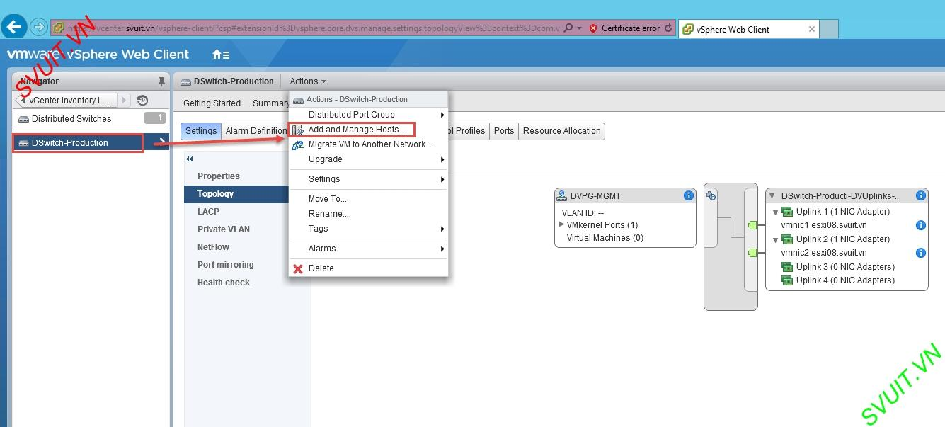 migrate VM Network from vSS to vDS without downtime (2)