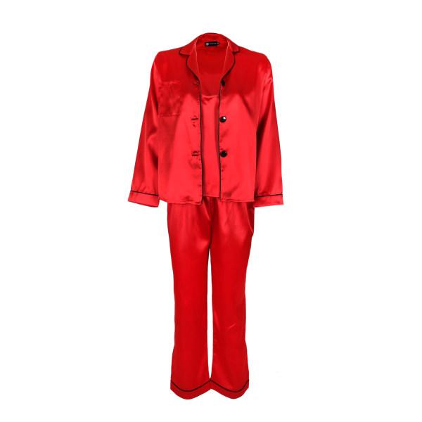 لباس خواب زنانه ناوالس کد SS2020-PJM105-rd