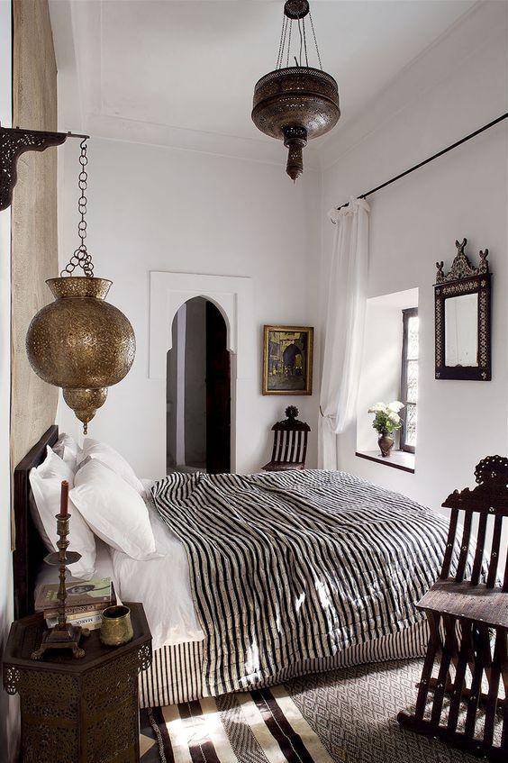 Moroccan Minimalist Bedroom Ideas