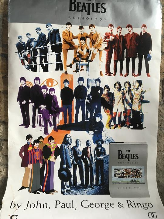 vintage The Beatles poster