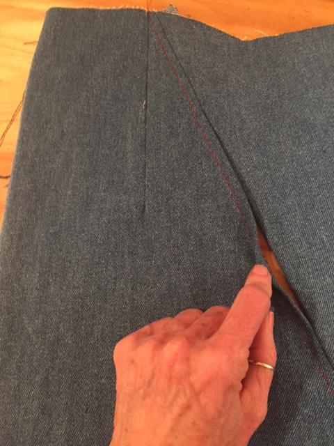 Islander Cape Sew Along: Week 2 Construction + Pocket Details