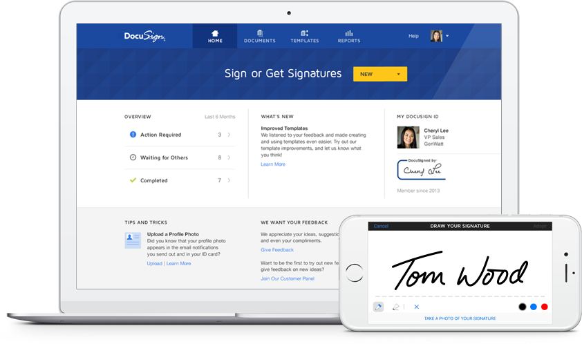 DocuSign Features and Benefits for Individuals