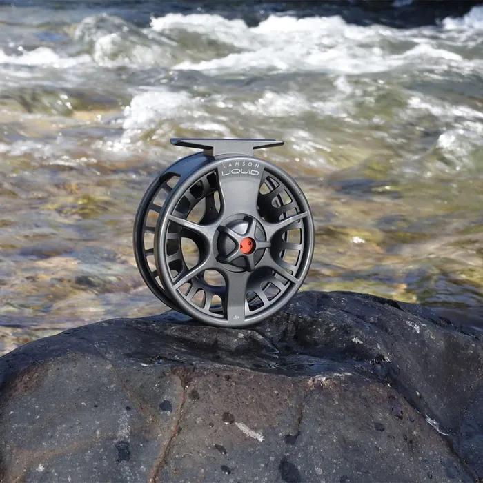 Waterworks-Lamson Liquid Fly Reel review. Lamson fly fishing reels