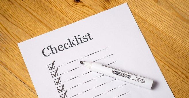 Checklist, Check, List, Marker, Checked