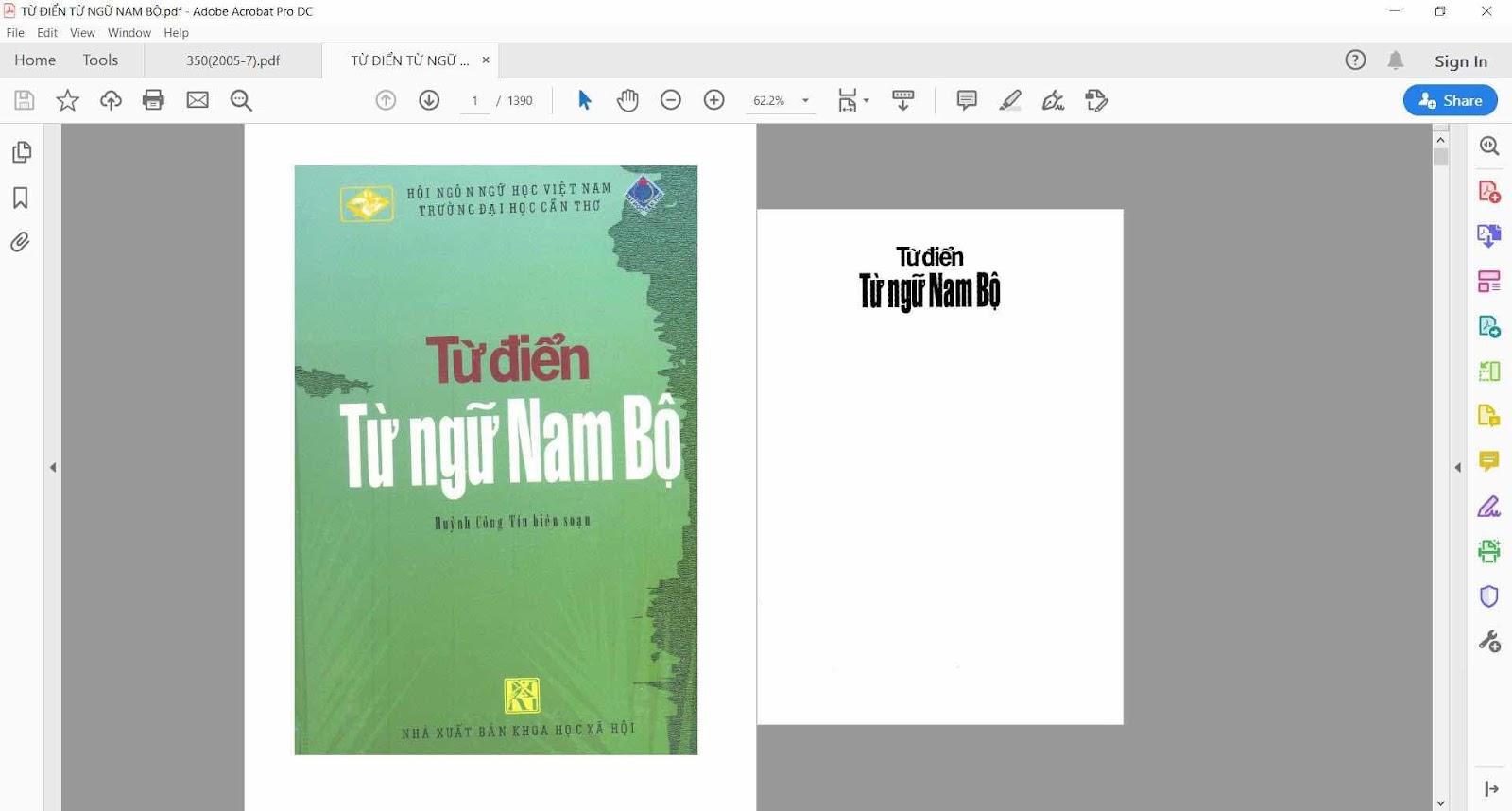 Về quyển Từ điển từ ngữ Nam Bộ của TS Huỳnh Công Tín