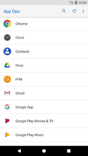 App Ops - Permission manager– Vignette de la capture d'écran