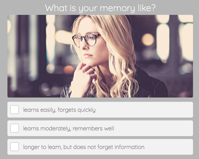 memory question