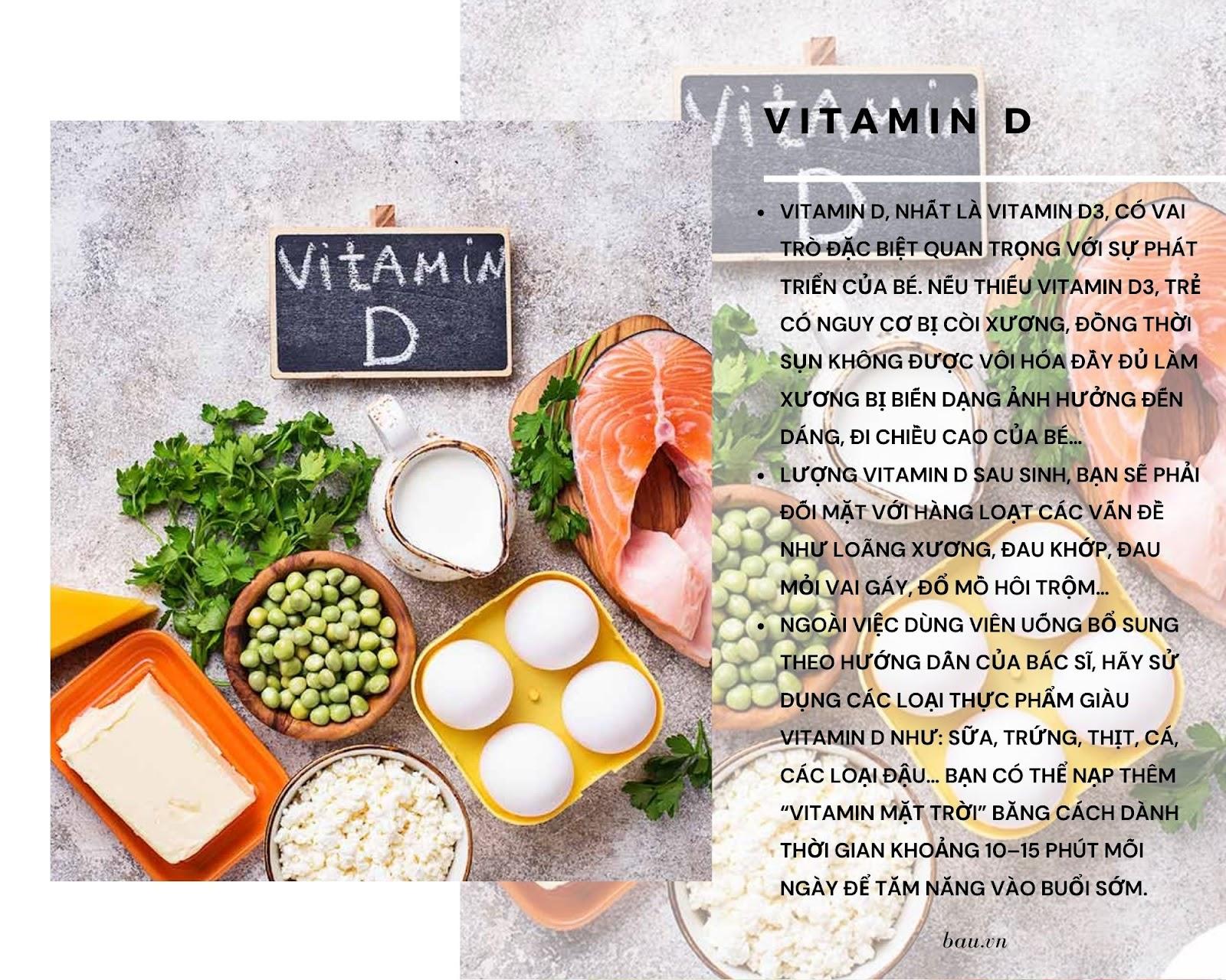 7 loại vitamin cho mẹ sau sinh đang cho con bú - ảnh 5
