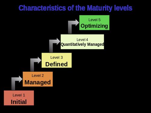 ITIL 4 service management maturity levels