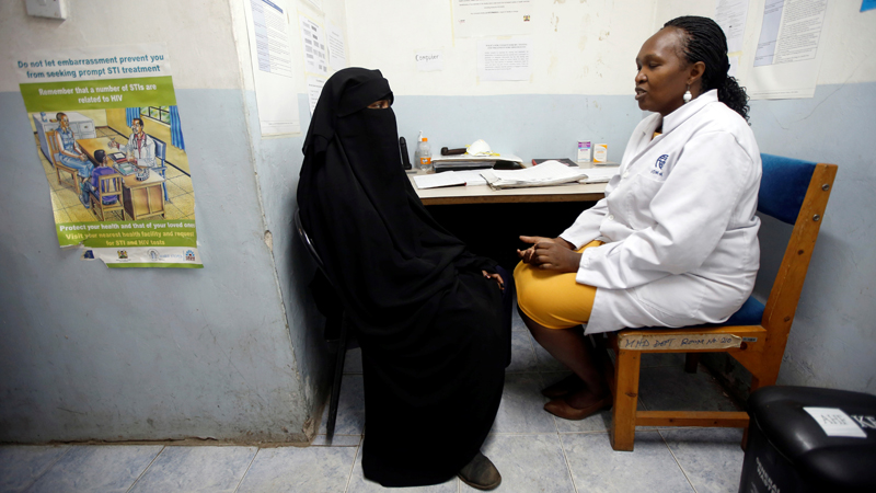 How to address HIV/AIDS stigma in health facilities to achieve UHC