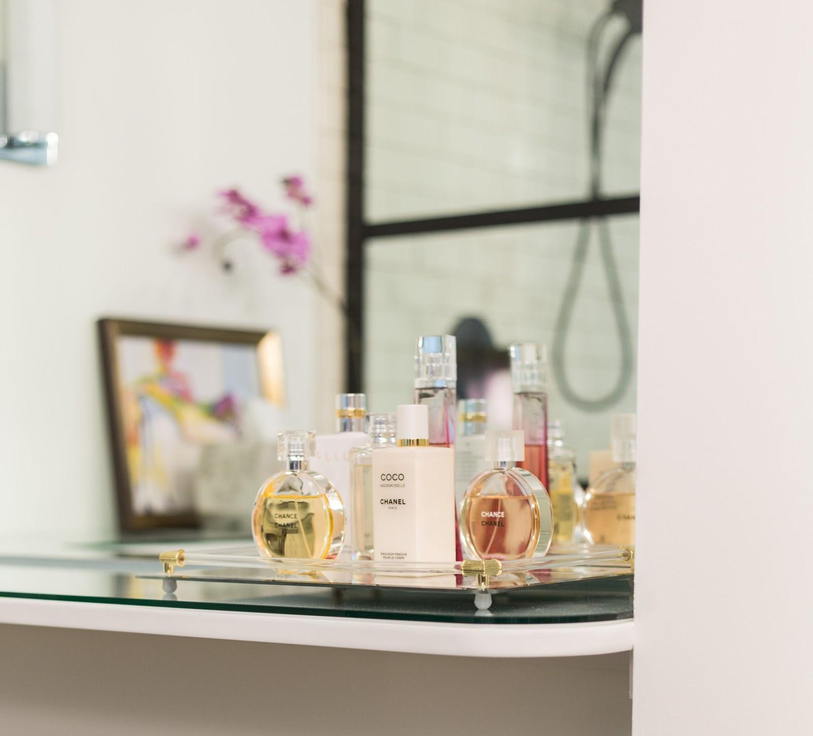 Calgary interior designer project reveal: traditional Parisian meets modern contemporary, master bathroom