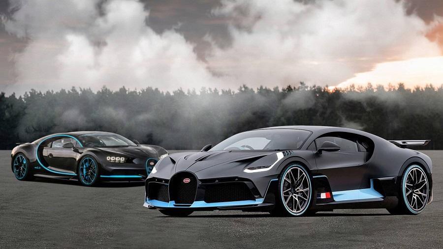 Bugatti Chiron és Bugatti Divo