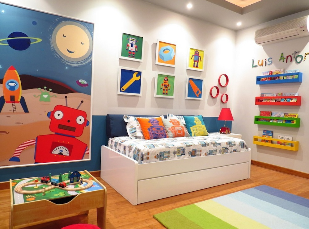 Make a Fun Display Wall for Children