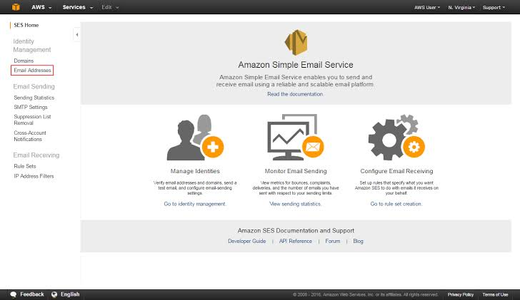Amazon Simple Email Service to use WP mail smtp plugin.