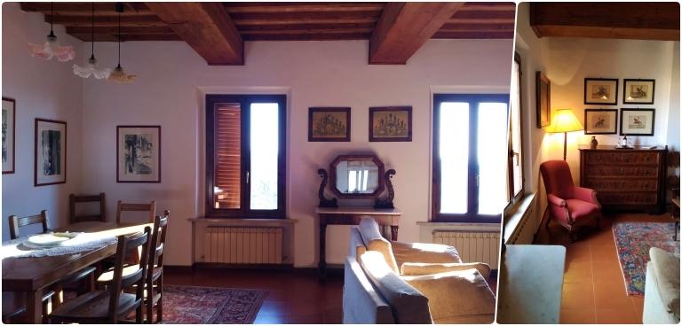 Hotel Santa Caterina Siena: na nossa acomodação havia sala de jantar e estar