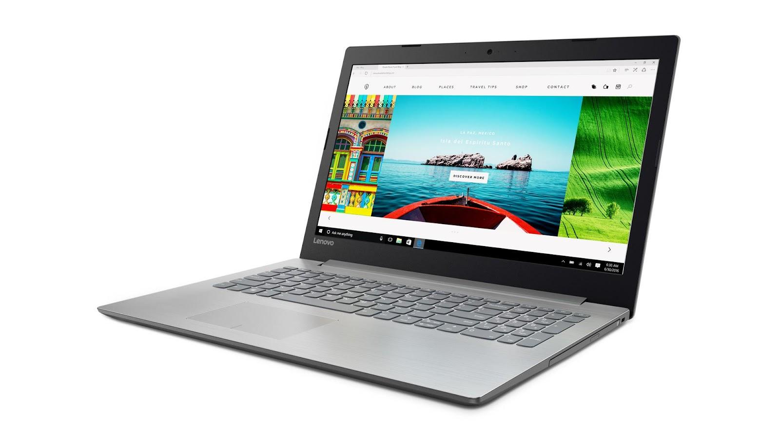 Фото1  Ноутбук Lenovo IdeaPad 320-15 Platinum Grey (80XL0419RA)