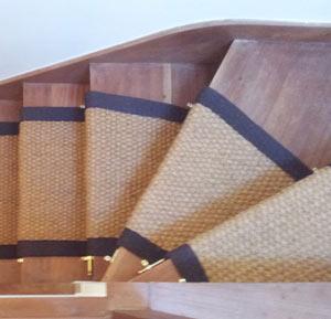 coir stair runner in a  winding-stairs-landing.jpg