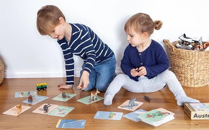 5. ฝึกให้เขารู้จักเล่นแฟลชการ์ด
