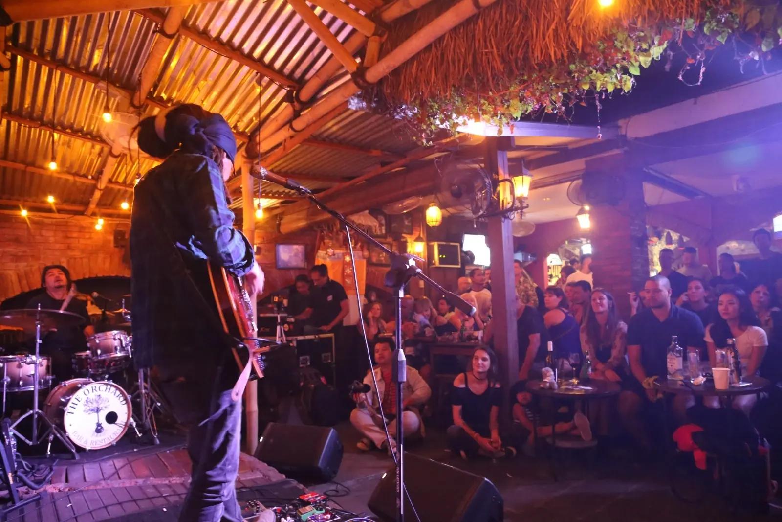 the orchard bar & restaurant - Live Music Bali flokq