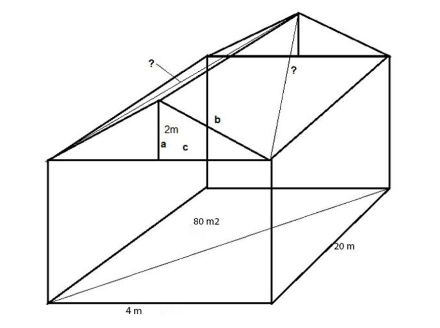 Cách tính diện tích mái nhà cấp 4