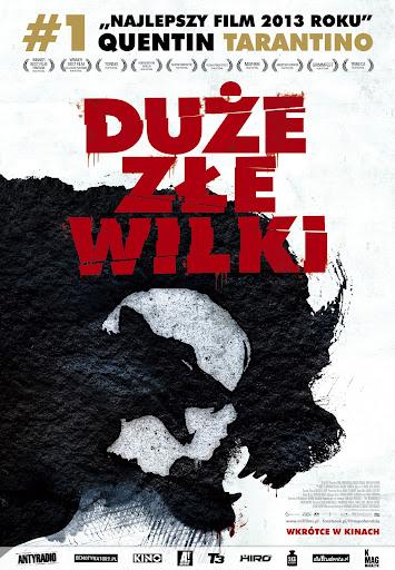Polski plakat filmu 'Duże Złe Wilki'