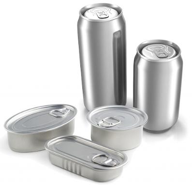 Figura 4: Embalagens de alumínio para alimentos e bebidas