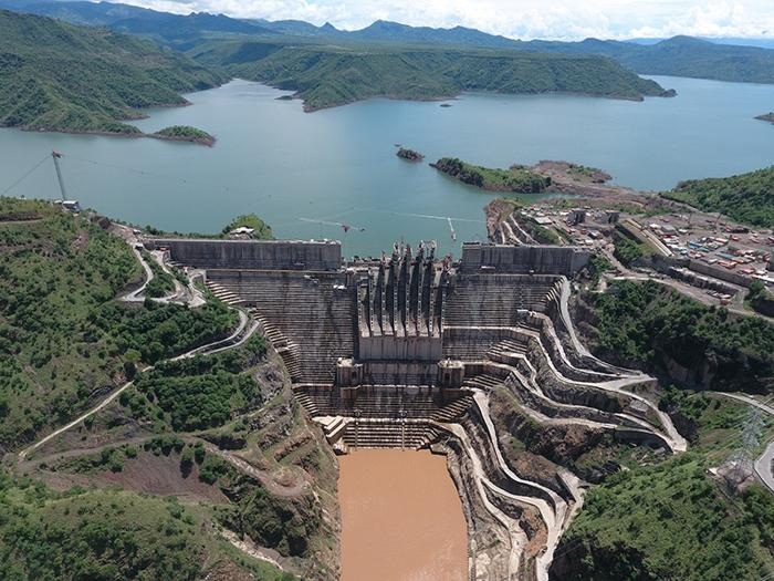 Image result for gibe 111 dam image