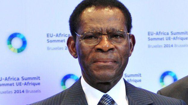presidente de Guinea Ecuatorial Obiang