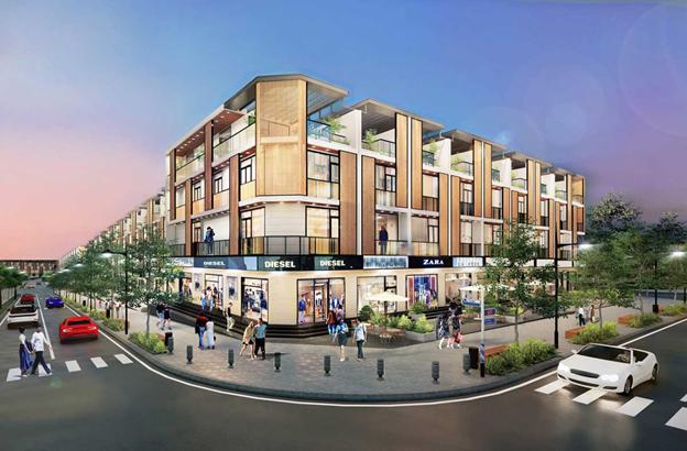 Hình ảnh khu đô thị của dự án Takara Residence Bình Dương