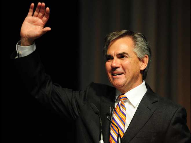 5191c0cca6d8e Jim Prentice waves from the stage after winning the PC leadership on Sept.  6,