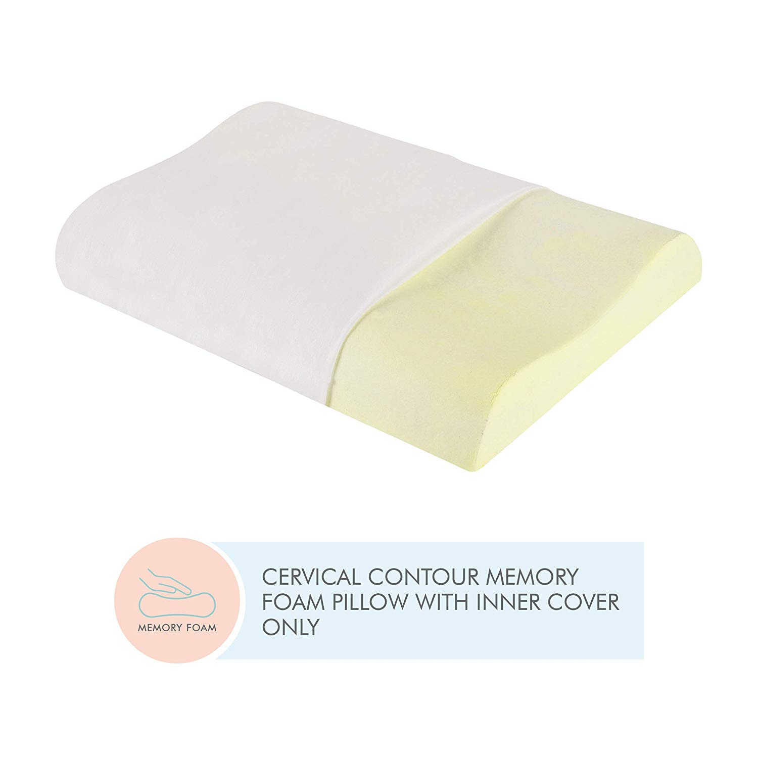 The Contour Cervical Orthopedic White Willow Pillow