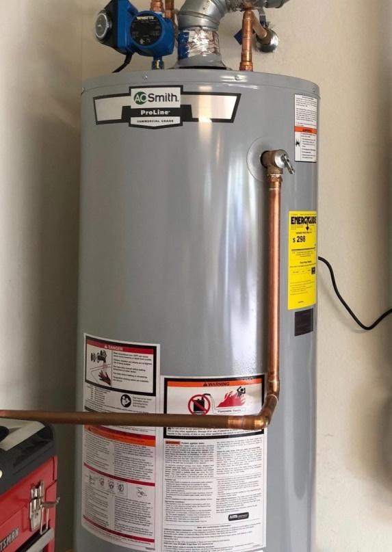 Propane Water Heater Features