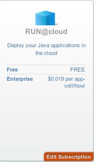 RUN@cloud subscription