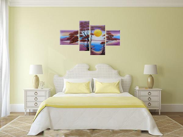 Chọn tranh trang trí sơn dầu cho phòng ngủ
