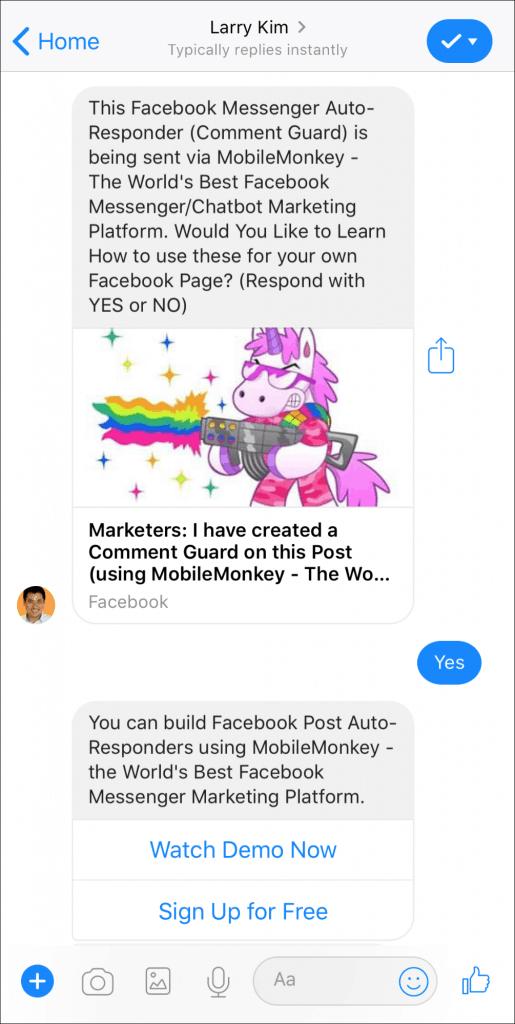 viral marketing software mobilemonkey
