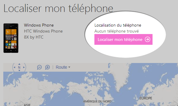 comment localiser un telephone nokia lumia