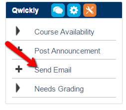 Qwickly Email Option