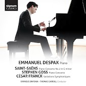 Saint-Saëns, Goss, Franck: Works for Piano & Orchestra