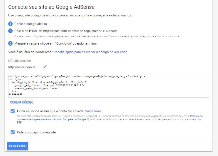 Google AdSense: Ganhe dinheiro com seu site!