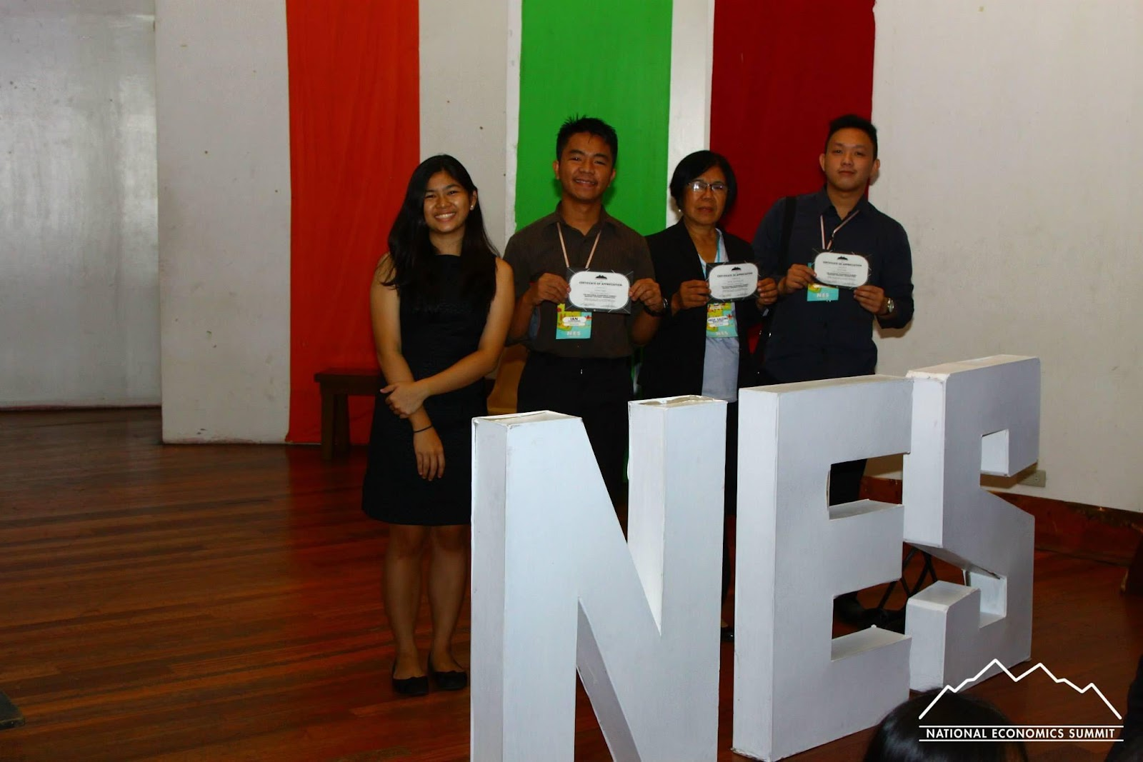 BSEcon students participating in the National Economics Summit 2014 in UP Diliman.