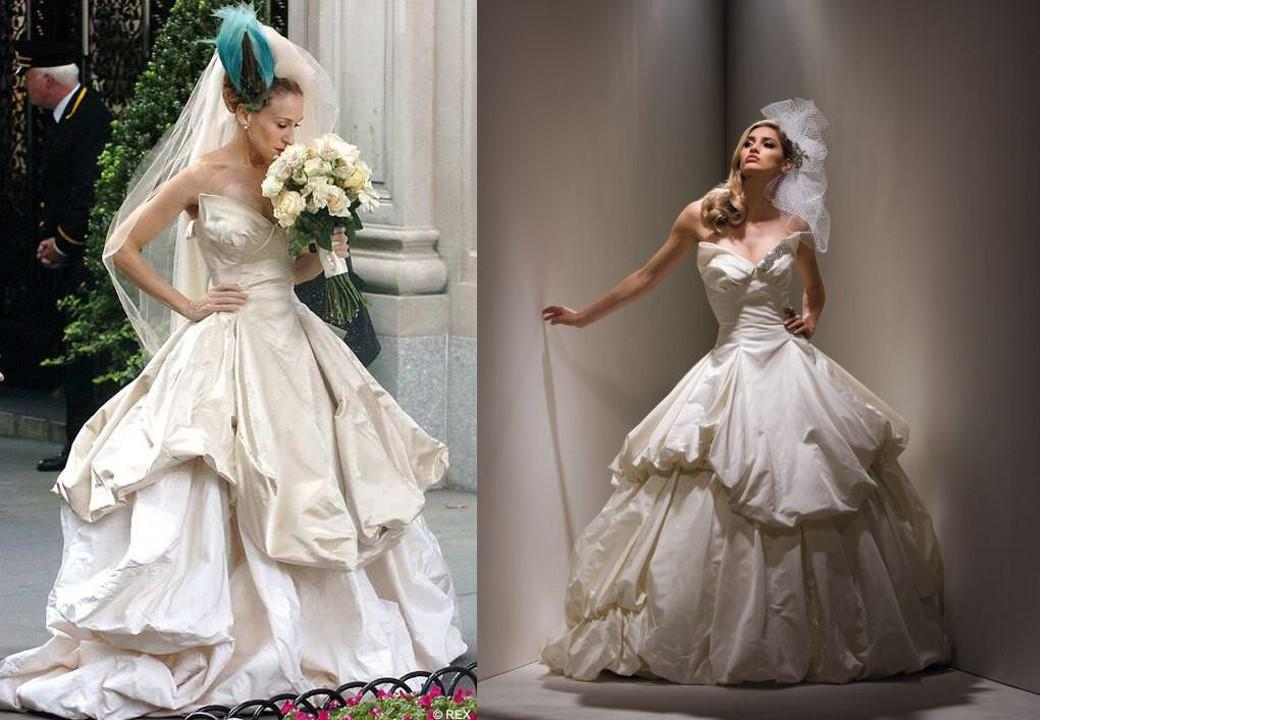 Ð?аÑ?Ñ?инки по запÑ?оÑ?Ñ? SEX AND THE CITY movie wedding dress