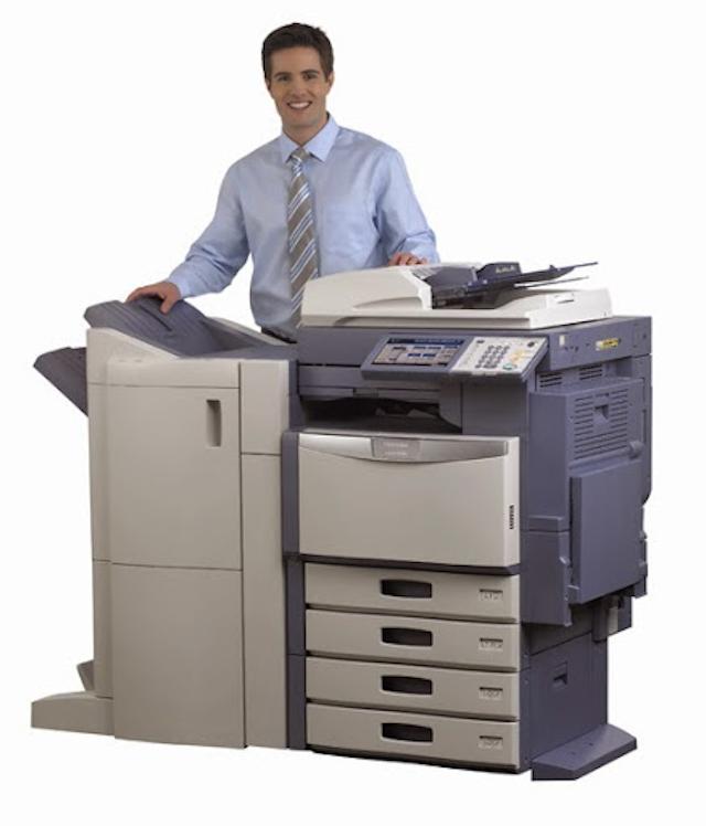 Các bạn nên chọn đơn vị cho Thuê máy photocopy có quy mô lớn