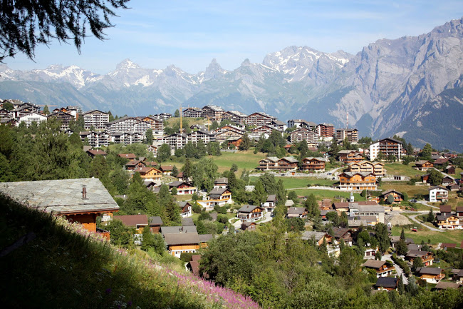 Nendaz in the Swiss Alps