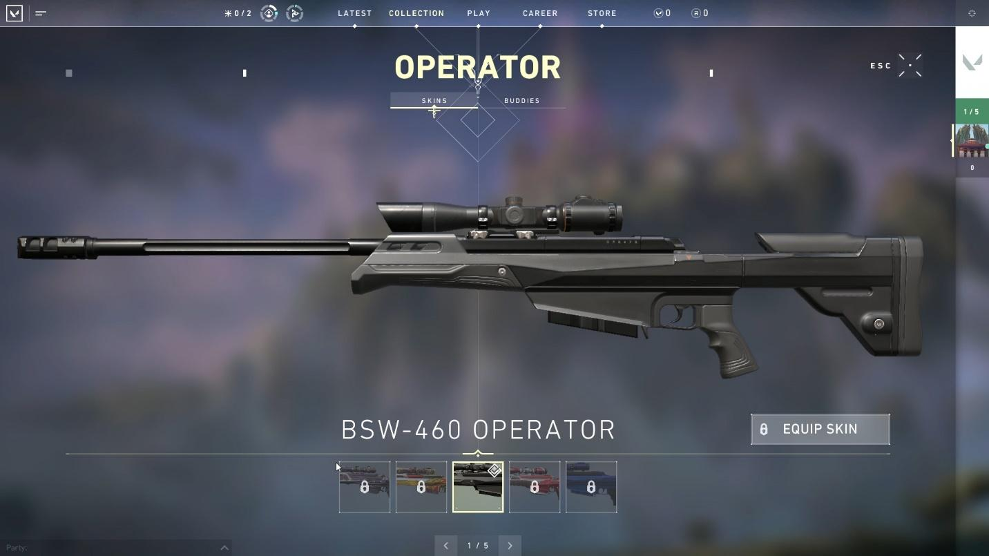 Operator sniper considered as one of the top weapons in Valorant