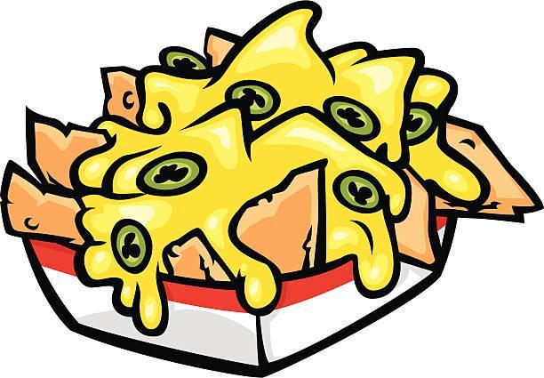 Image result for clip art of nachos